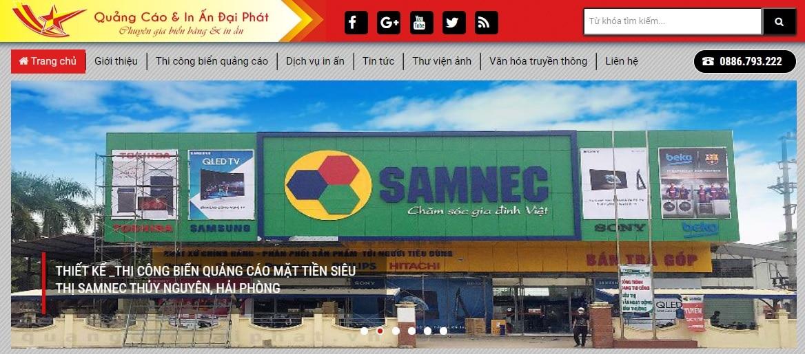 Công ty thi công bảng hiệu quảng cáo Đại Phát