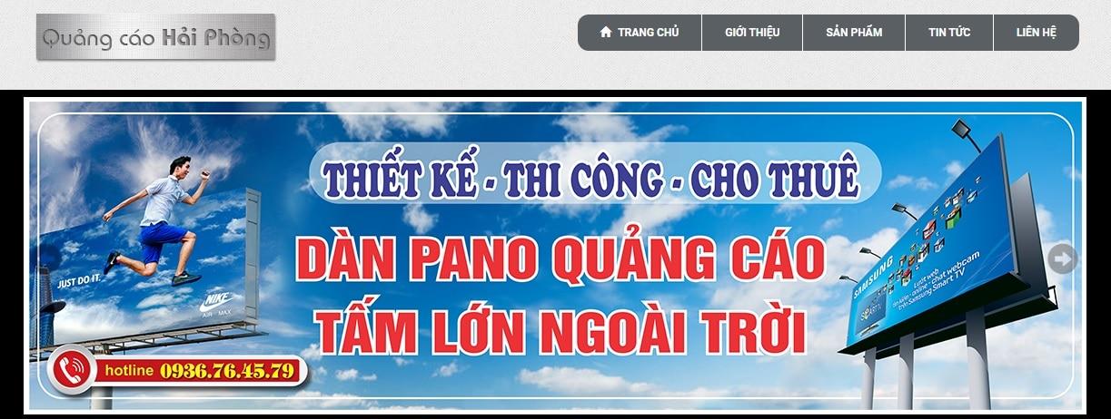 Công ty thi công bảng hiệu quảng cáo Hải Phòng