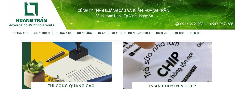 Công ty thi công bảng hiệu quảng cáo Hoàng Trần