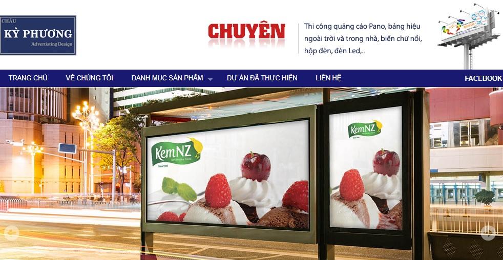 Công ty thi công bảng hiệu quảng cáo Kỳ Phương