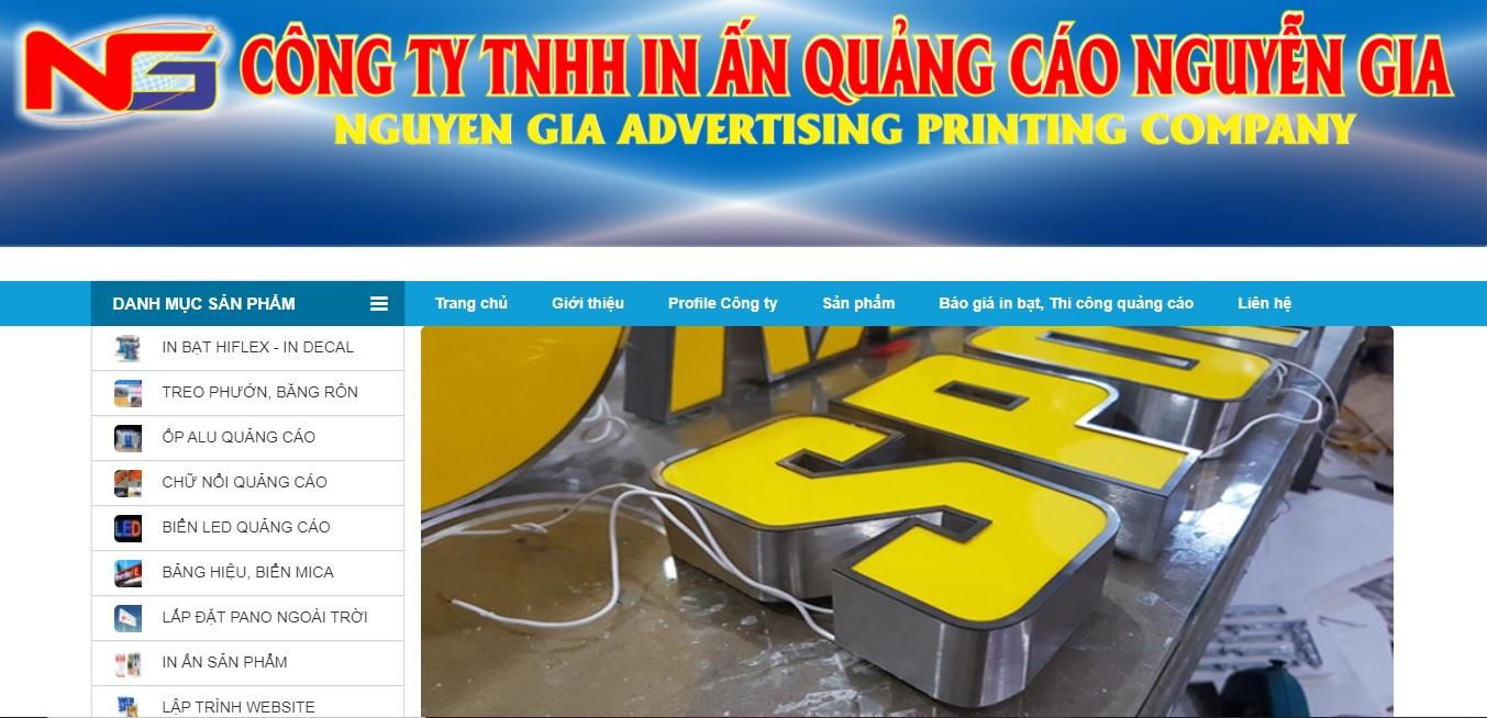 Công ty TNHH In Ấn Quảng cáo Nguyễn Gia