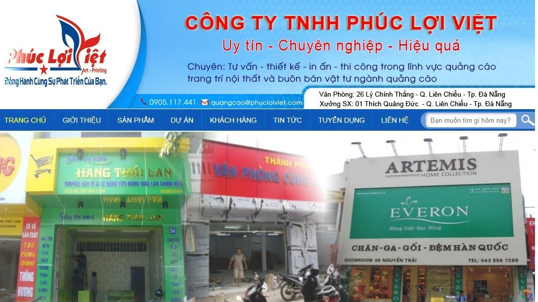 Công ty thi công bảng hiệu quảng cáo Phúc Lợi Việt