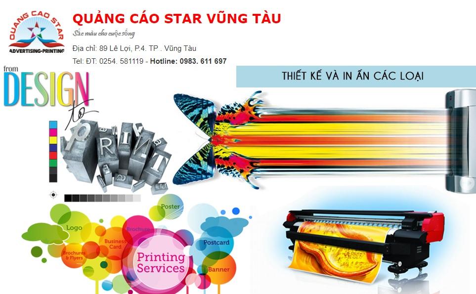 Công ty thi công bảng hiệu quảng cáo Star Vũng Tàu