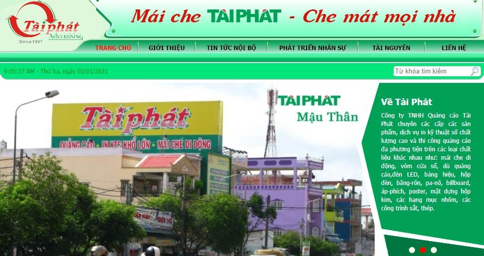 Công ty thi công bảng hiệu quảng cáo Tài Phát