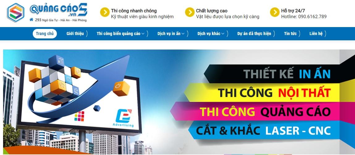Công ty thi công bảng hiệu quảng cáo & Thương mại S Việt Nam