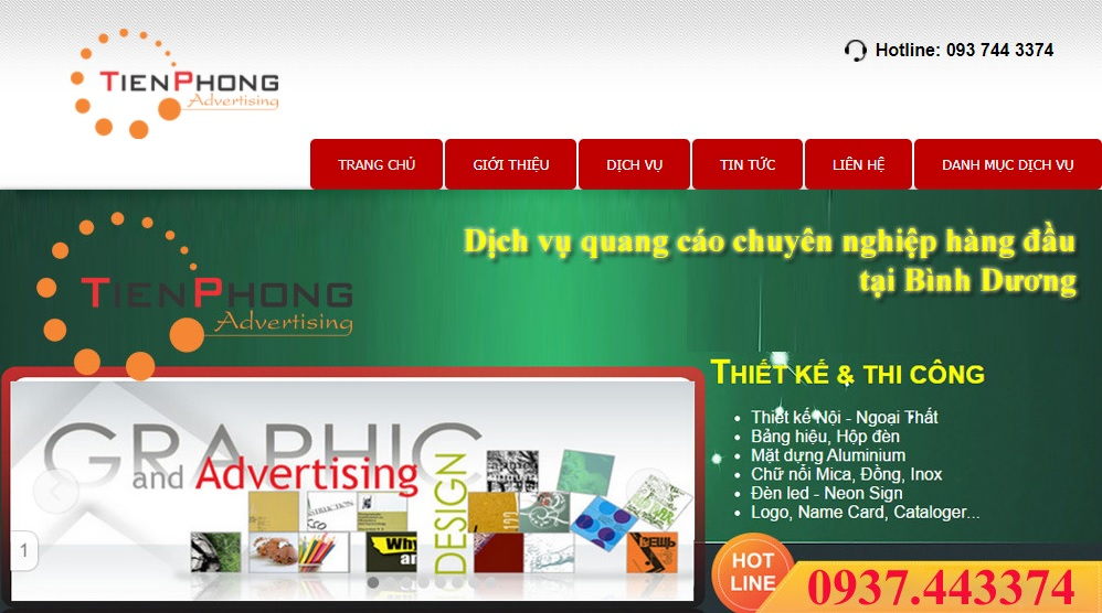 Quảng cáo Tiên Phong