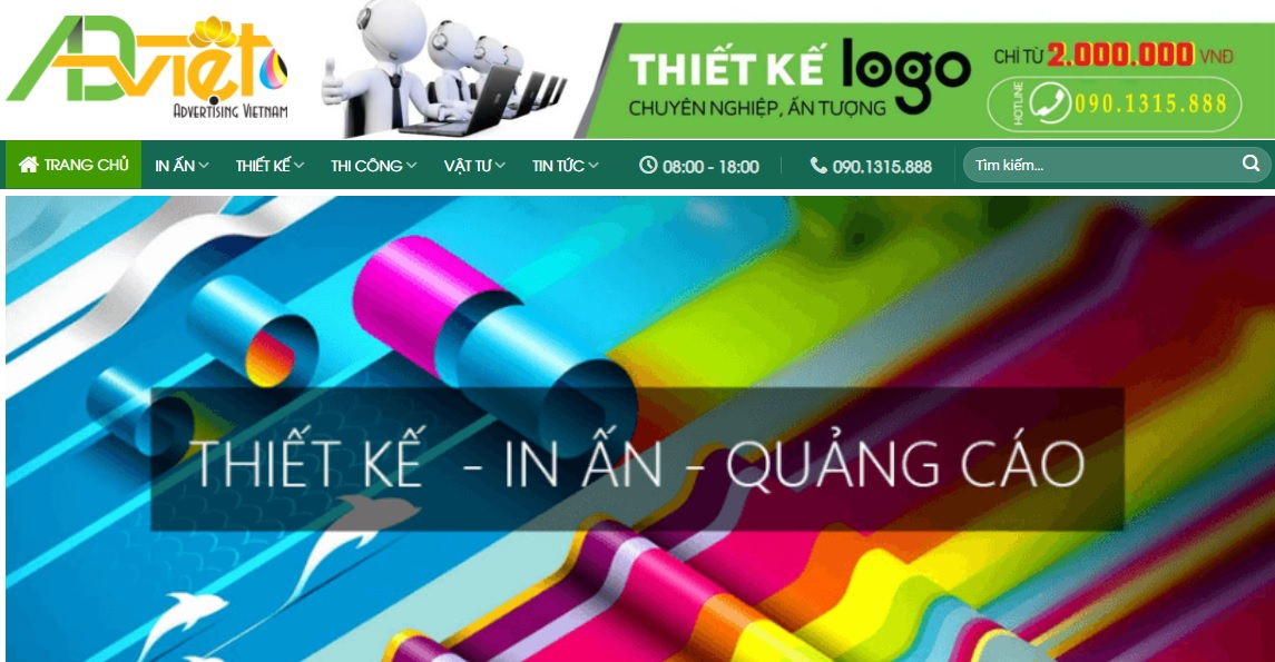 Công ty thi công bảng hiệu quảng cáo Việt ADV