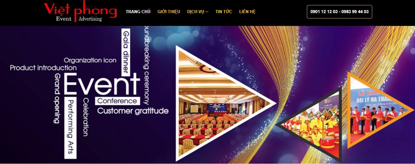 Công ty thi công bảng hiệu quảng cáo Việt Phong