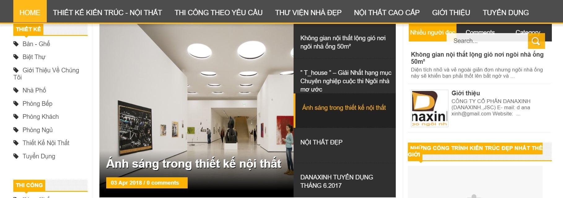 Công ty thiết kế nhà Danaxinh