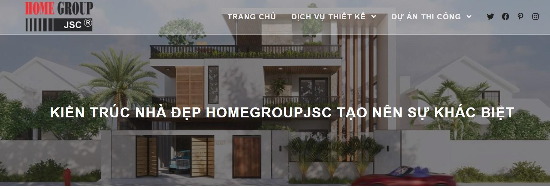 Công ty thiết kế nhà Homegroup JSC
