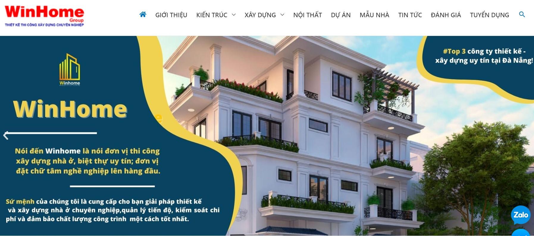 Công ty thiết kế nhà Winhome Group