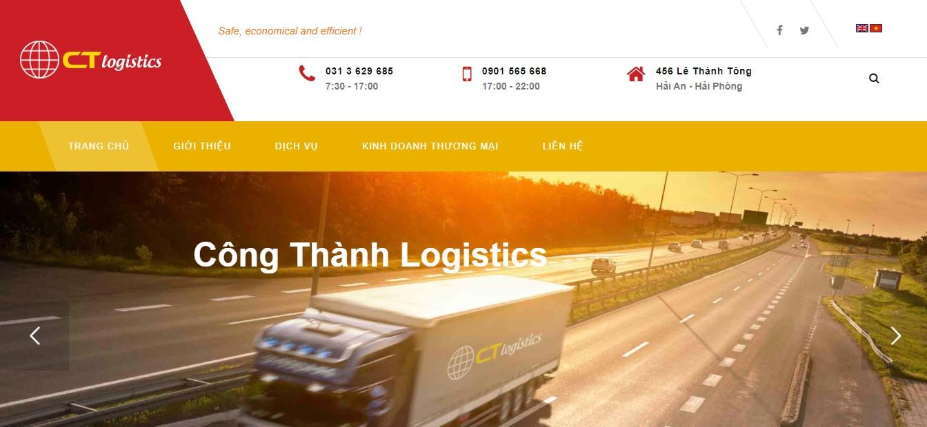 Công ty vận tải Công Thành Logistics