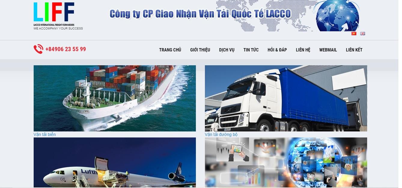 Công ty vận tải và Logistics - Lacco