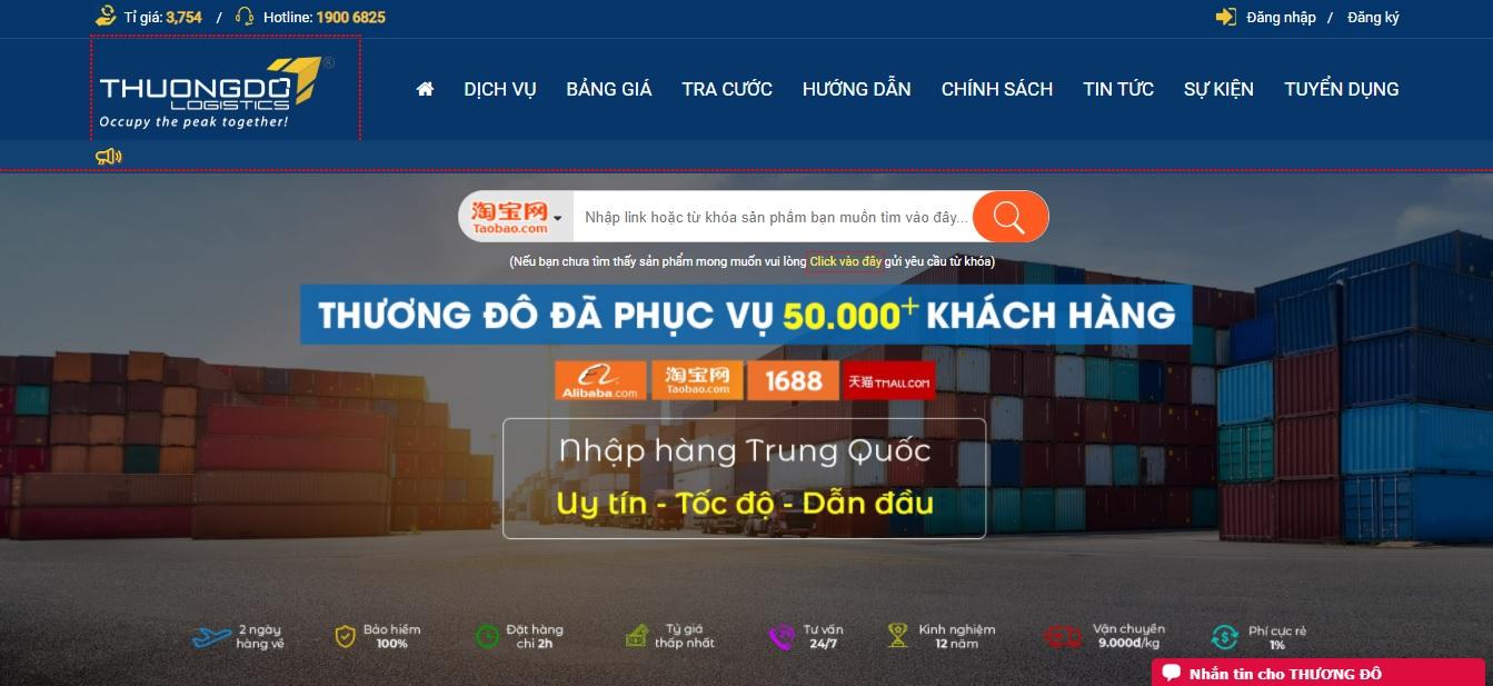Công ty vận tải và Logistics - Thương Đô