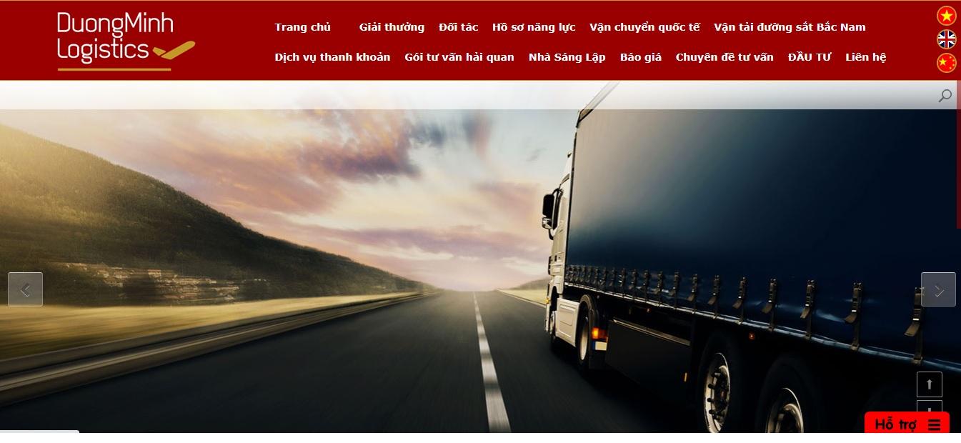 Công ty vận tải và logistics - DƯƠNG MINH