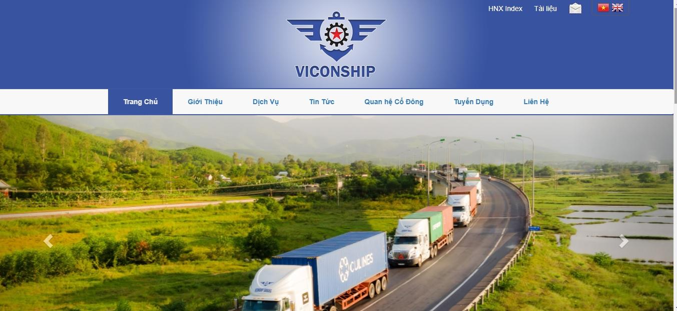 Công ty vận tải và logistics - VICONSHIP Đà Nẵng