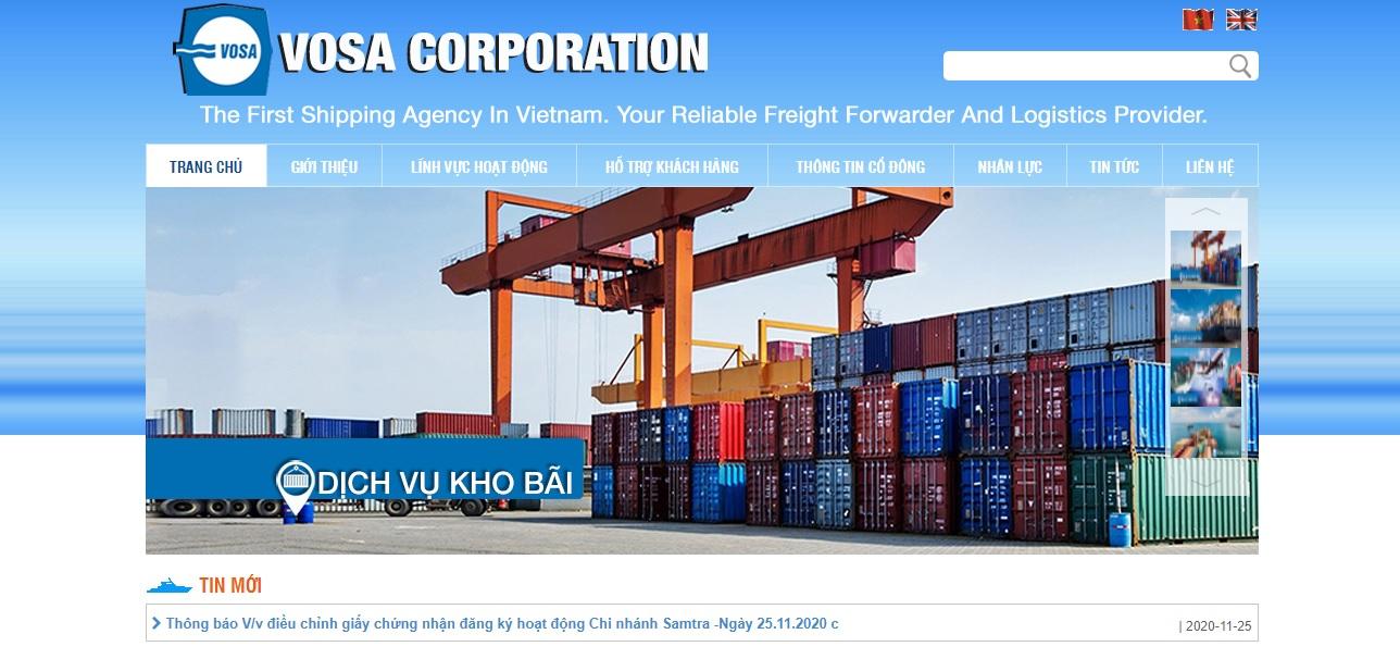 Công ty vận tải và logistics - VOSA DANANG