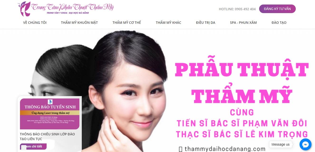 Thẩm mỹ viện Đại học Đà Nẵng