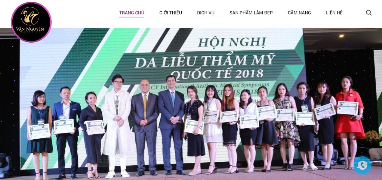 Thẩm mỹ viện Vân Nguyễn
