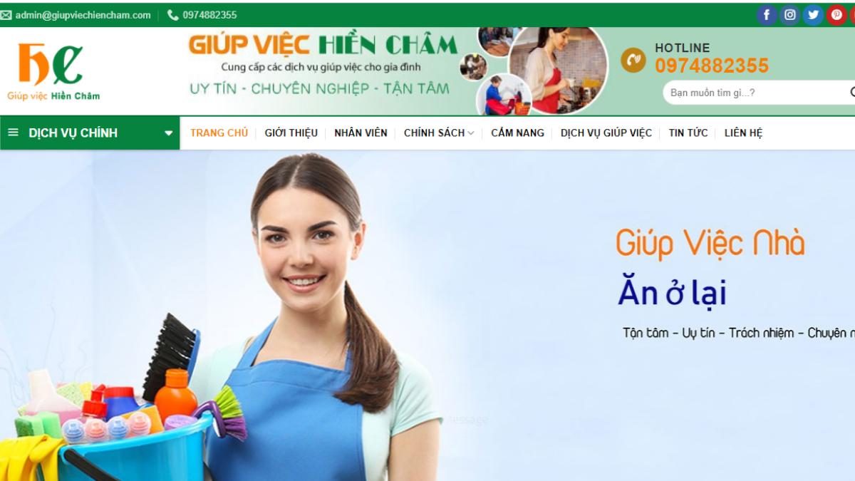 Công ty cung cấp lao động Giúp Việc Hiền Châm