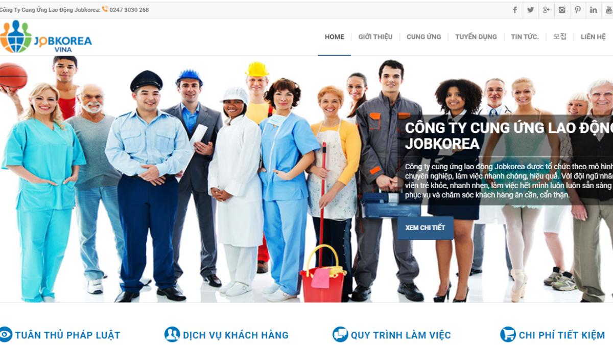 Công ty quản lý và cung ứng nhân sự JobKorea
