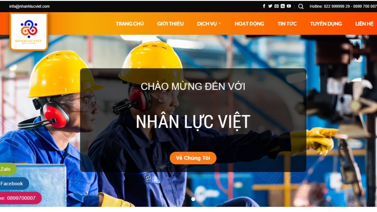 Công ty cung cấp lao động Nhân Lực Việt