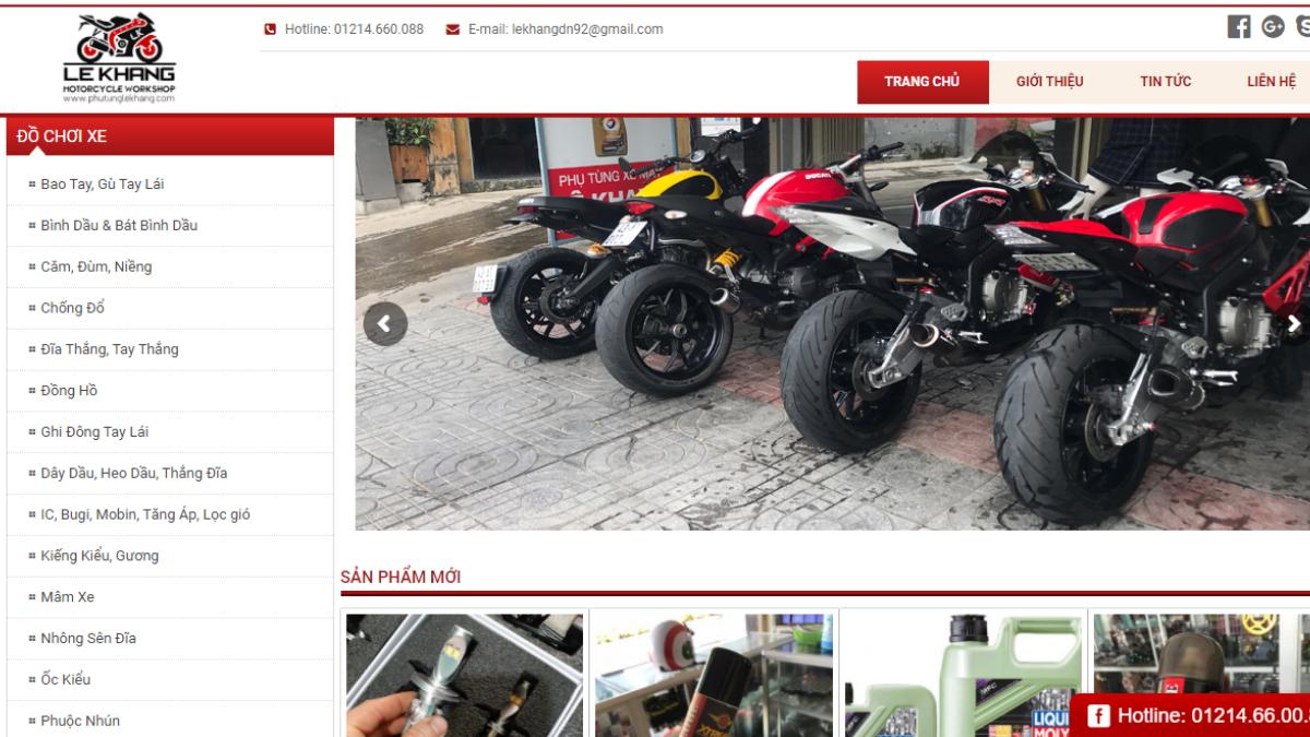 Công ty đồ chơi mô tô xe máy Lê Khang