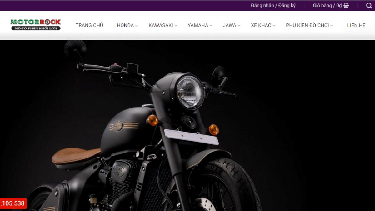 Công ty đồ chơi mô tô xe máy Motorrock Đà Nẵng
