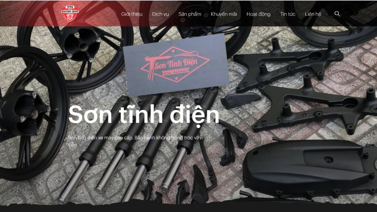 Shop phụ tùng đồ chơi mô tô Tri Racing Shop