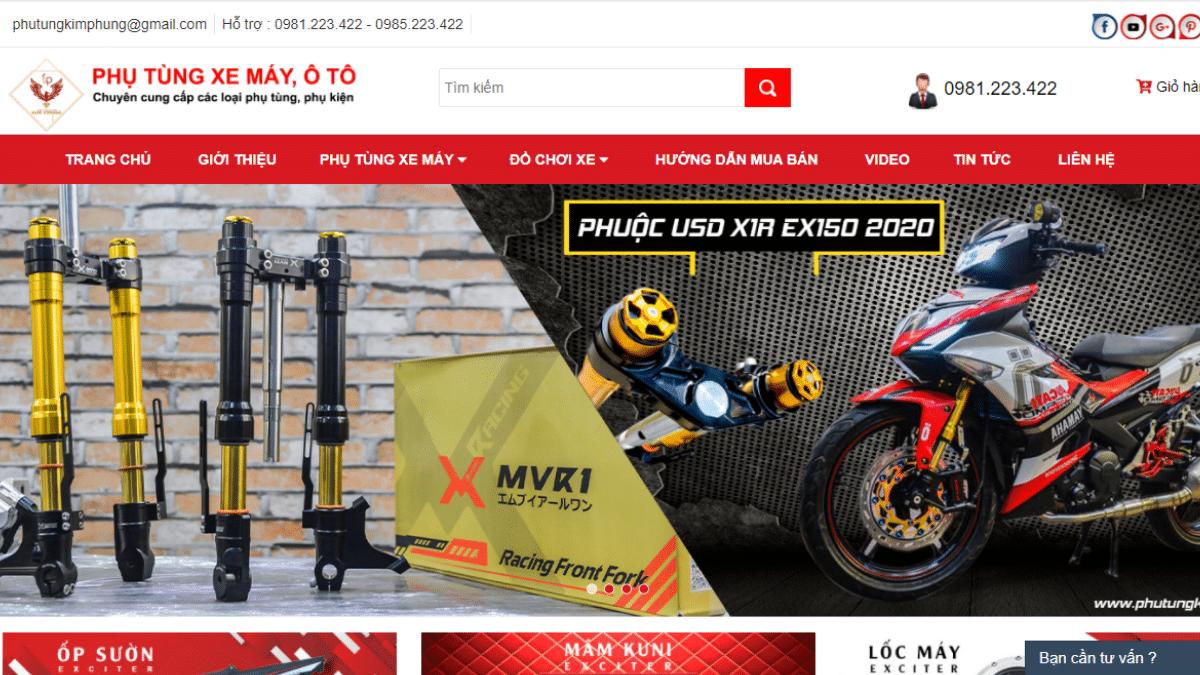 Công ty phụ tùng - phụ kiện - đồ chơi xe máy Kim Phụng