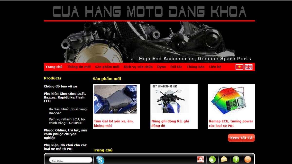 Công ty phụ tùng đồ chơi mô tô Moto Đăng Khoa