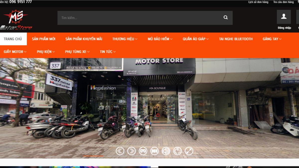 Công ty phụ tùng đồ chơi mô tô Motor Store