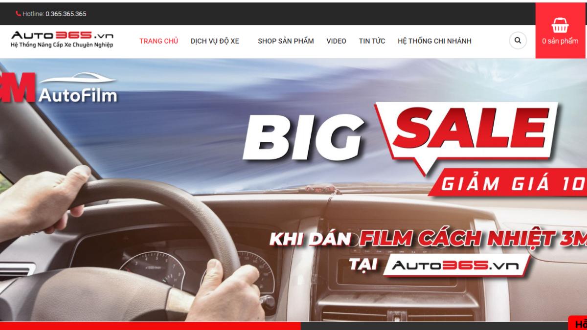 Công ty phụ tùng đồ chơi ô tô Auto365 Biên Hòa