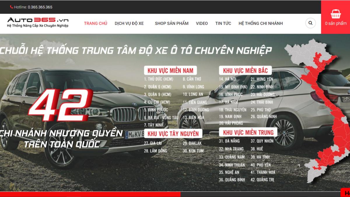 Công ty phụ tùng đồ chơi ô tô Auto365