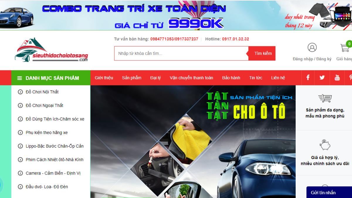 Công ty phụ tùng đồ chơi ô tô GOODSLTS Việt Nam