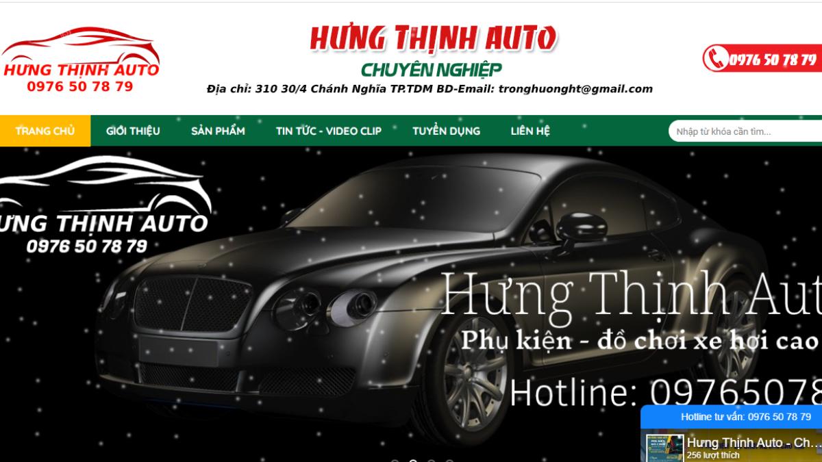 Công ty phụ tùng đồ chơi ô tô Hưng Thịnh Auto