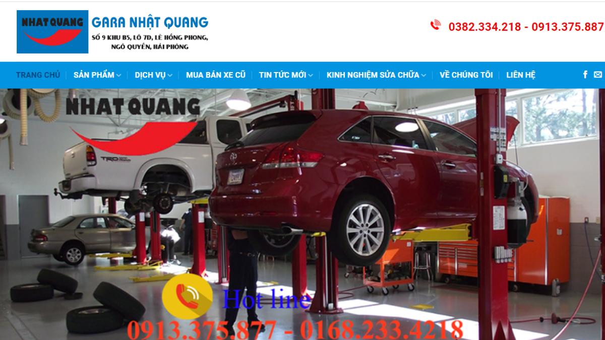 Công ty phụ tùng đồ chơi ô tô Nhật Quang Auto