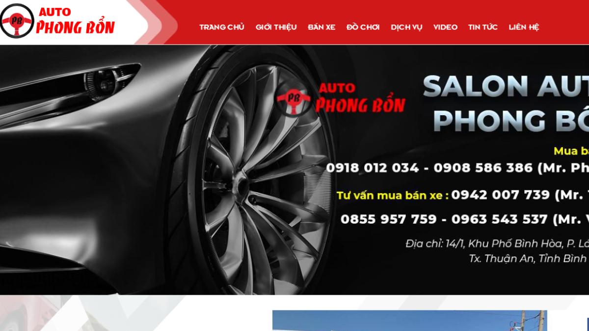 Công ty phụ tùng phụ kiện xe hơi Auto Phong Bổn
