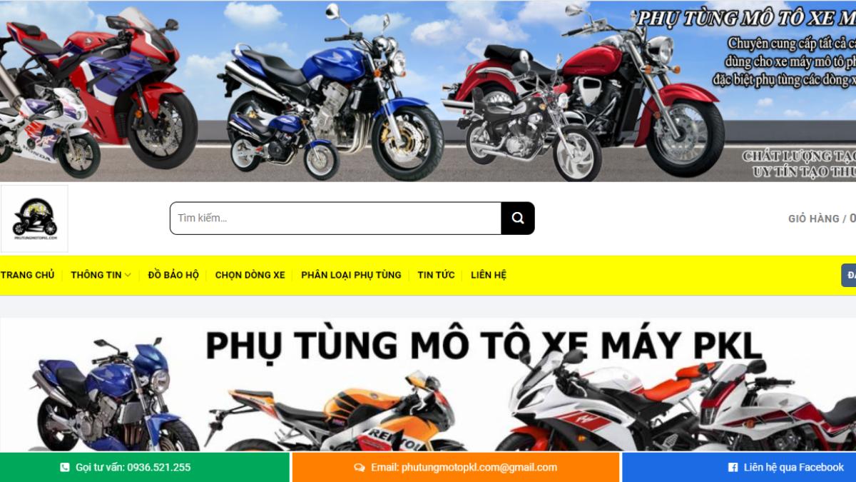 Công ty phụ tùng đồ chơi mô tô Phutungmotopkl.com