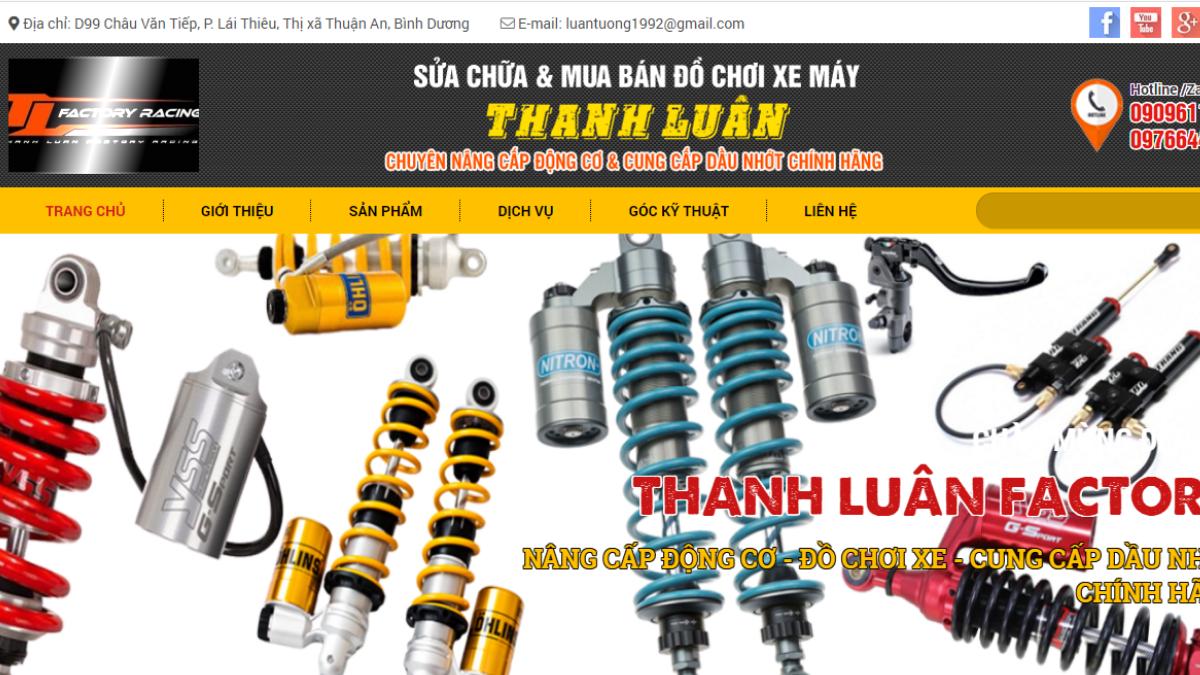 Cửa hàng phụ kiện mô tô xe máy Thành Luân Factory