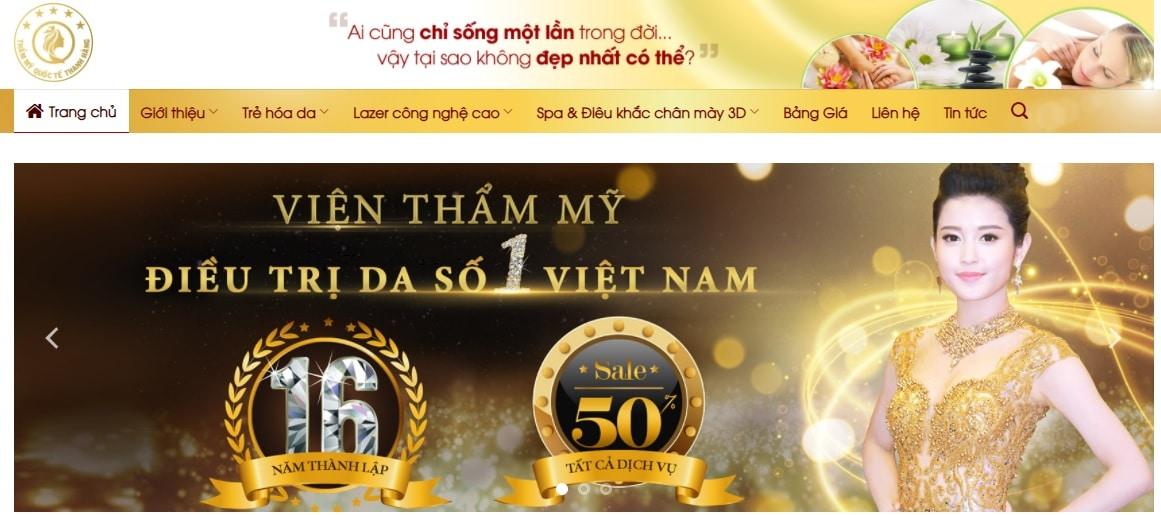 Thẩm mỹ viện quốc tế Thanh Hằng