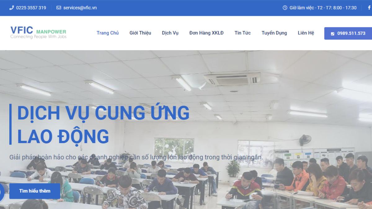Công ty cung cấp lao động Việt Pháp