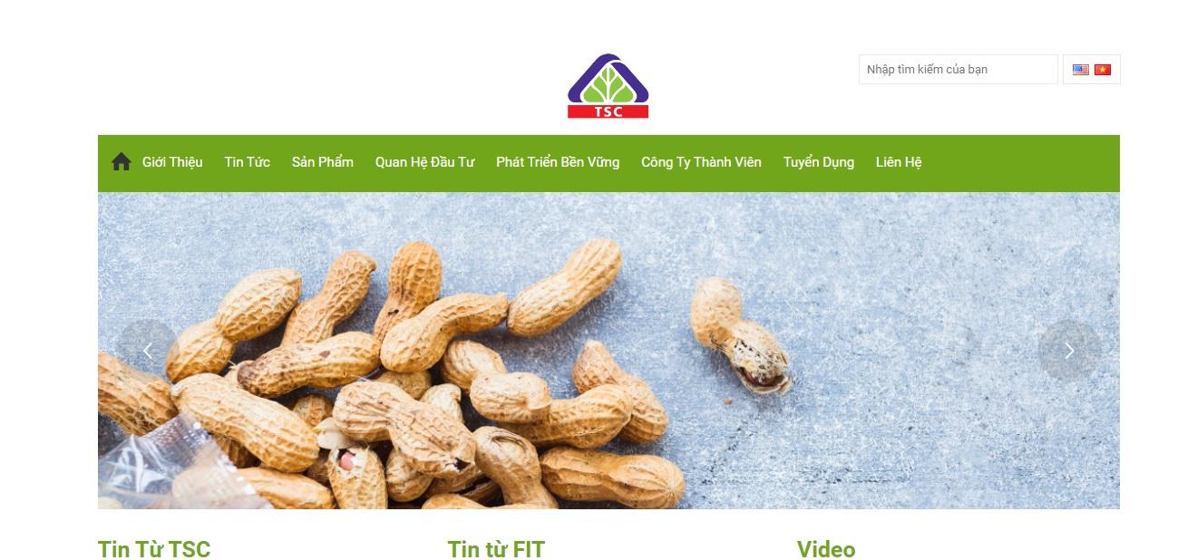 Công ty xuất nhập khẩu nông sản TSC
