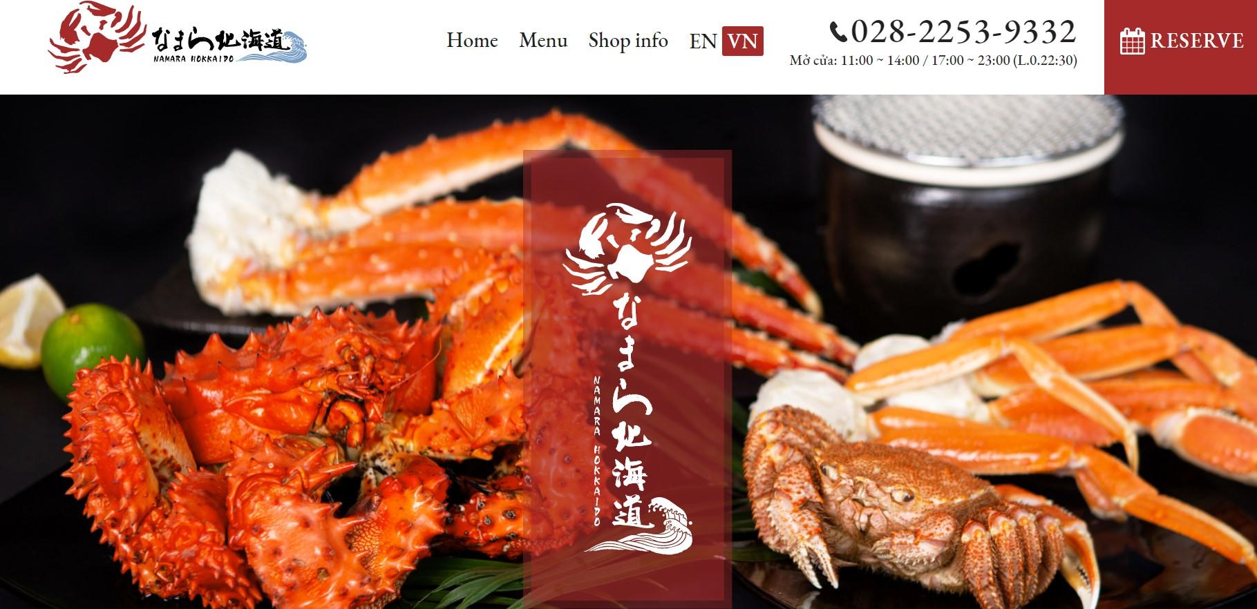 Nhà hàng Namara Hokkaido