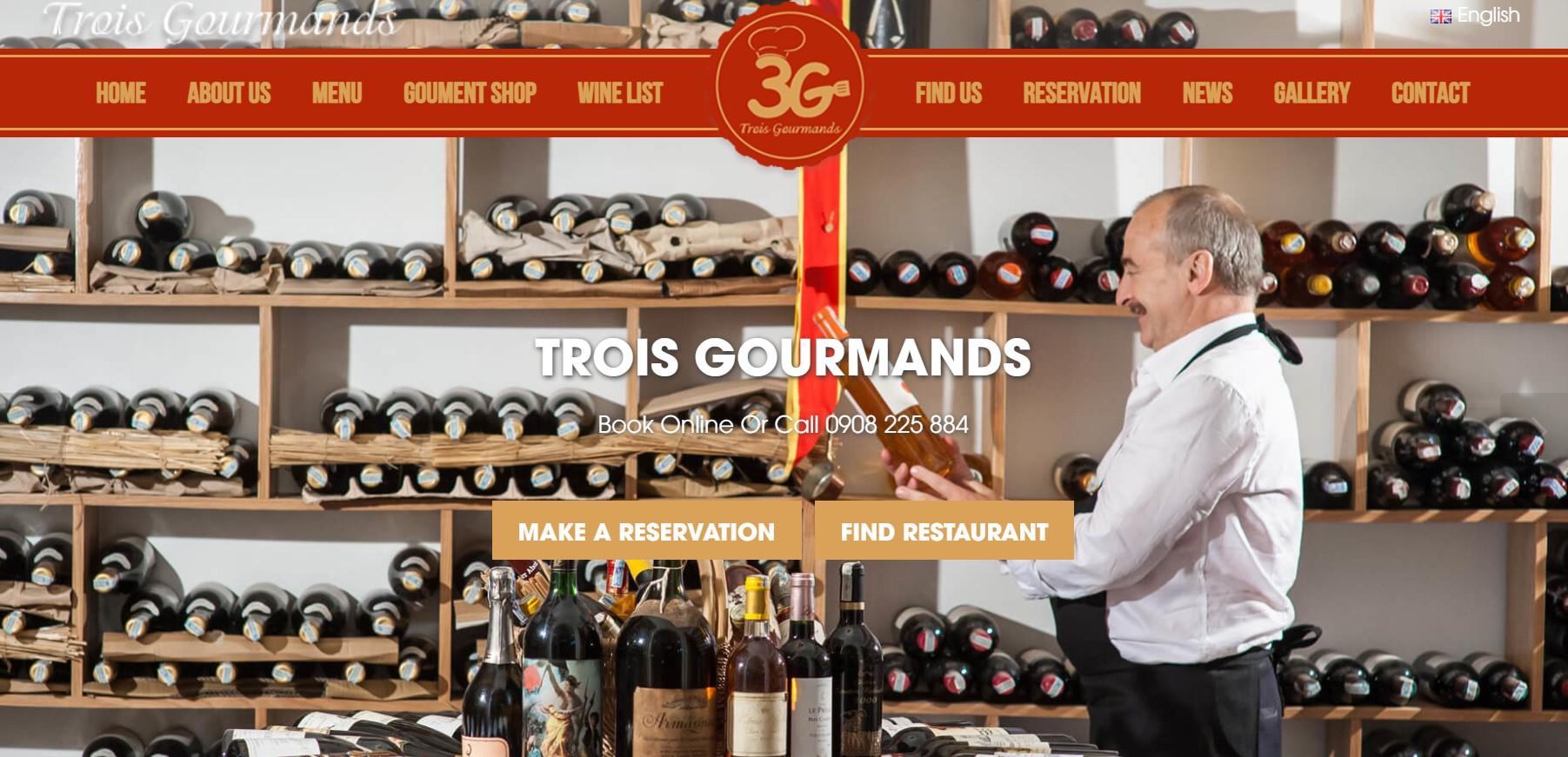 Nhà hàng Trois Gourmands