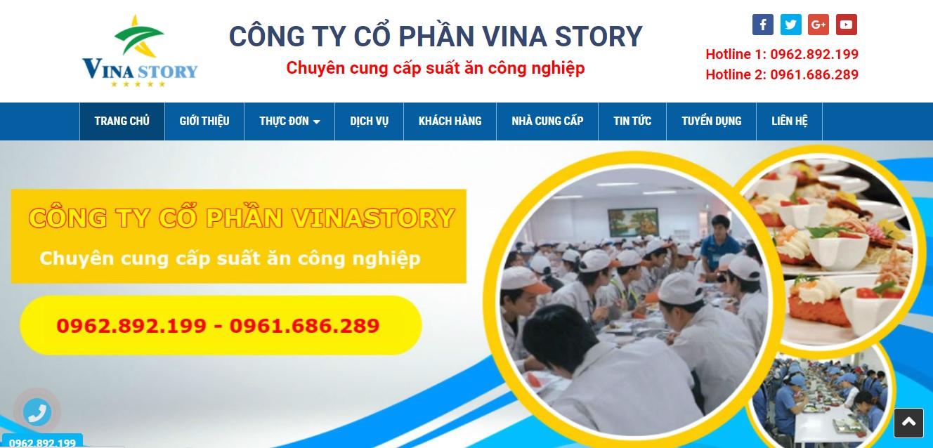Công ty cung cấp suất ăn công nghiệp VINA STORY