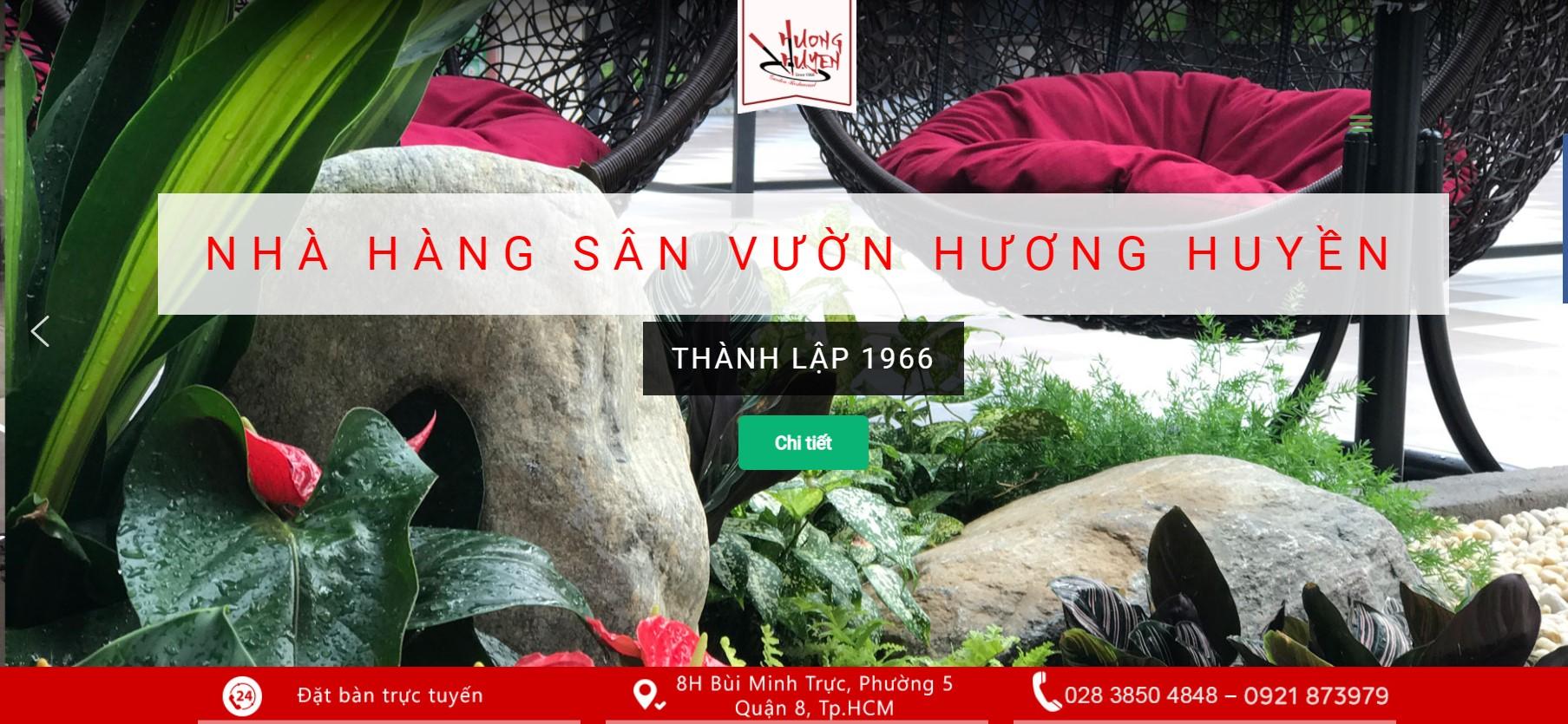 Nhà hàng sân vườn Hương Huyền