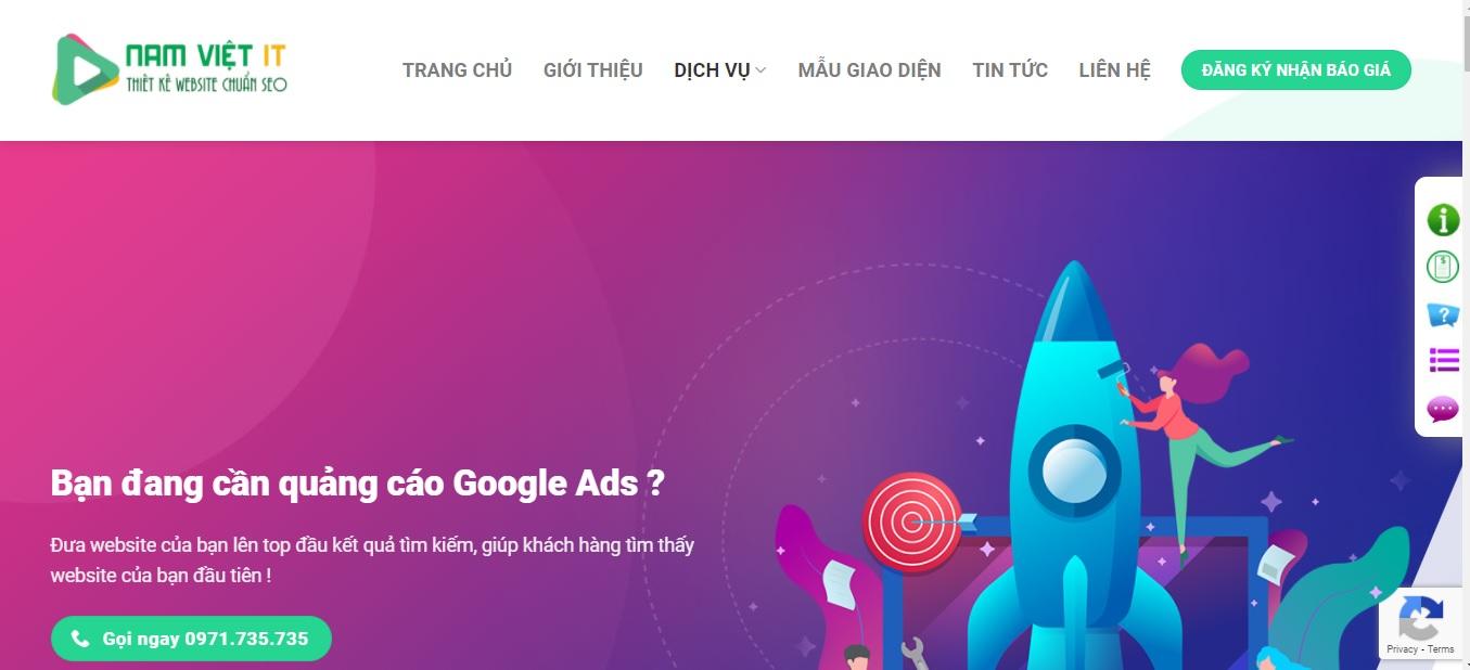 Công ty quảng cáo trực tuyến Nam Việt IT