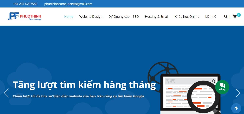 Công ty quảng cáo trực tuyến Phúc Thịnh