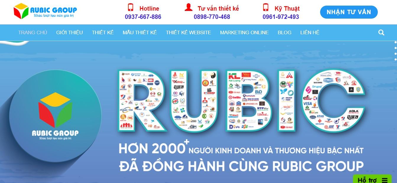 Công ty quảng cáo trực tuyến Rubic Group